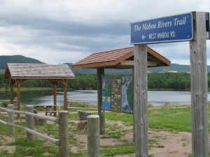 Mabou Rivers Trail sign